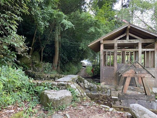 本谷公園 水車小屋