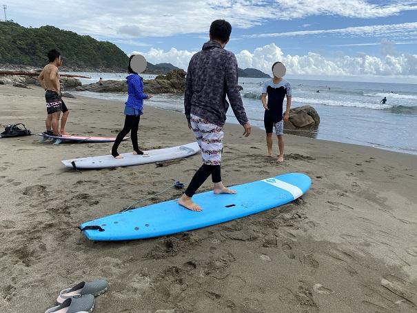 サーフィンスクール 3