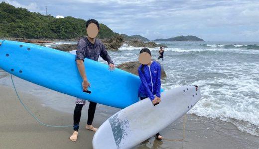 SURF SHOP MORE サーフィンスクール体験 生見サーフィンビーチ 高知県