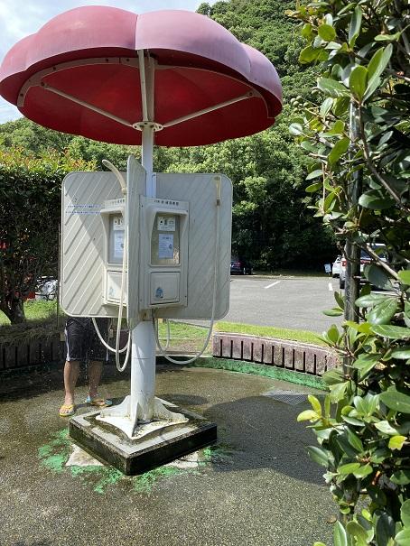 生見サーフィンビーチ シャワー1