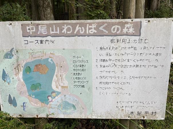 中尾山わんぱくの森 アスレチック