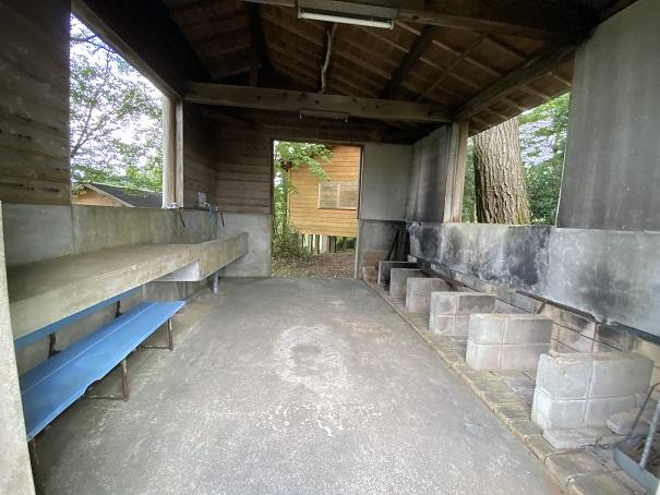 平成荘 キャンプ場 炊事場