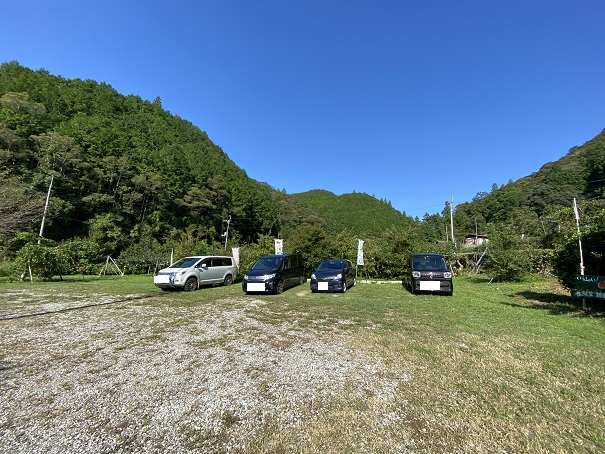 土本観光果樹園 駐車場