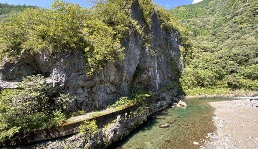 鏡川大穴峡で川遊び シュノーケリングでアユやあまごに会える 高知市