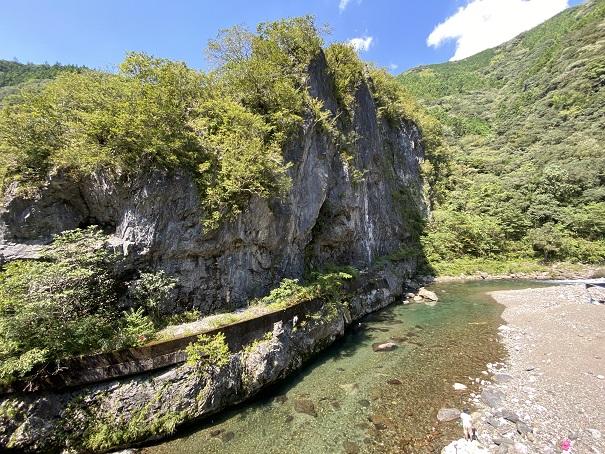 鏡川大穴峡