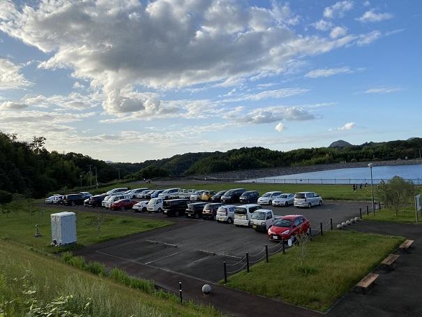 宝山湖 駐車場