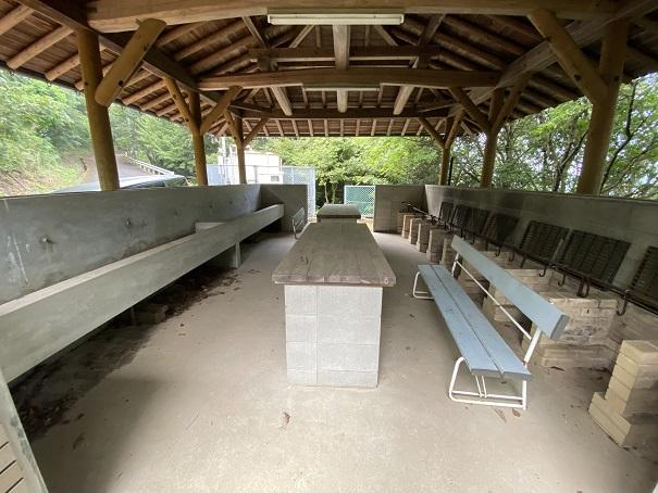 高鉢山キャンプ場 炊事棟2