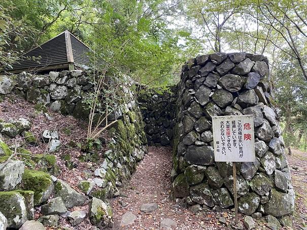 高鉢山キャンプ場 風穴