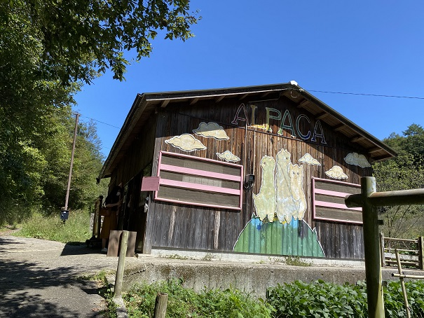 ふるさと旅行村 アルパカの小屋