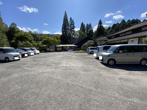 ふるさと旅行村 駐車場