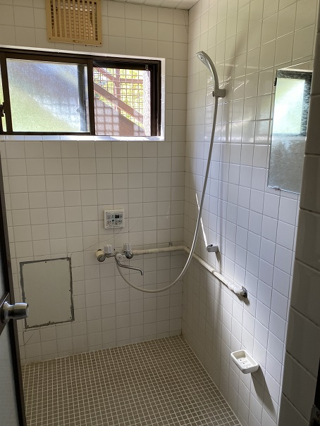 ふるさと旅行村 シャワー