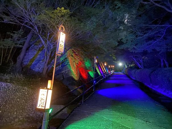 丸亀城キャッスルロード生駒坂