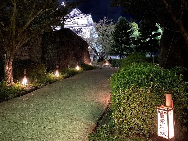 丸亀城キャッスルロード 京極坂