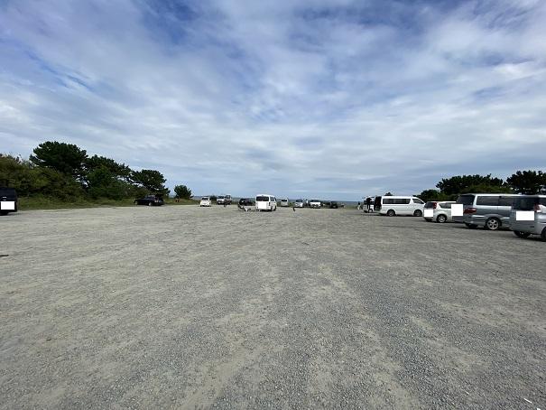 小松海岸 駐車場