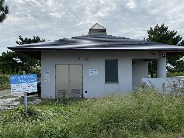 小松海岸トイレ