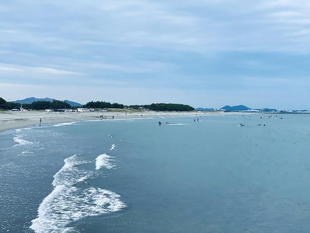 小松海岸 ビーチ2