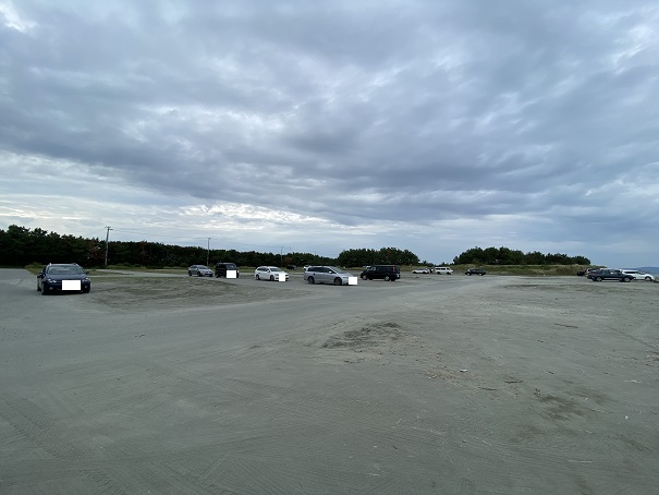 小松海岸駐車場2