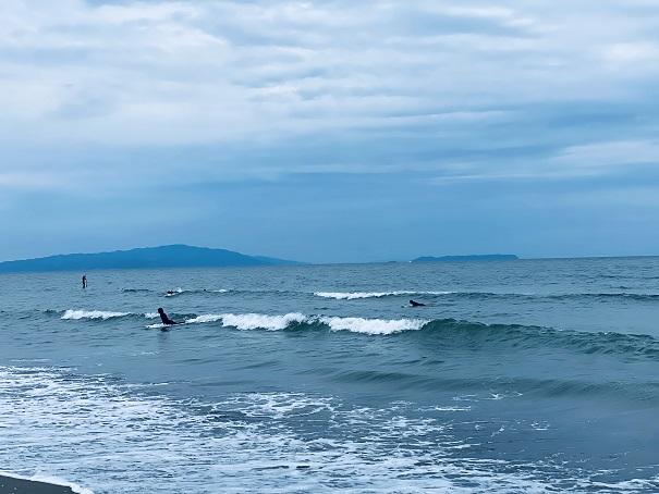 小松海岸初心者サーフィン