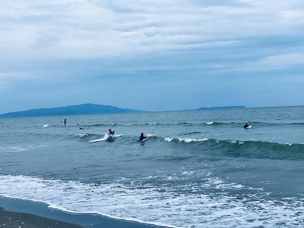 小松海岸サーフィン