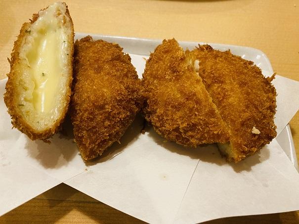 や台ずし丸亀駅富屋町 チーズたっぷりコロッケ