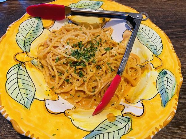 TRATTORIA Tino トラットリア ティノ 濃厚うにクリームスパゲッティ