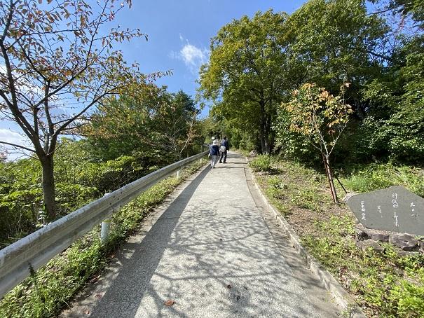 高屋神社 本宮まで遊歩道