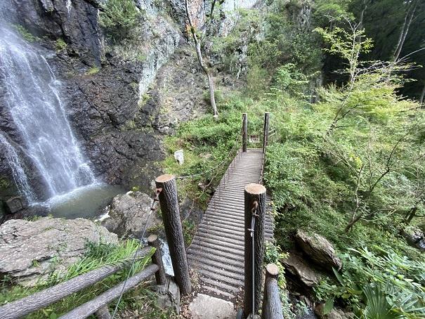 不動の滝 橋
