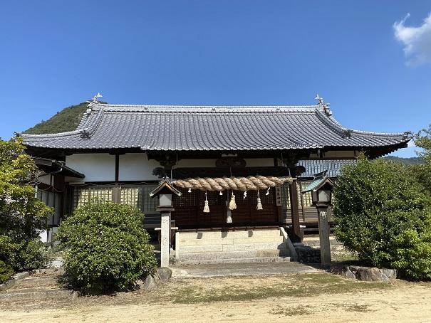 高屋神社下宮 拝殿