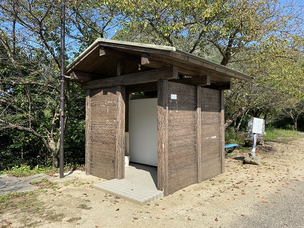 高屋神社 下宮トイレ
