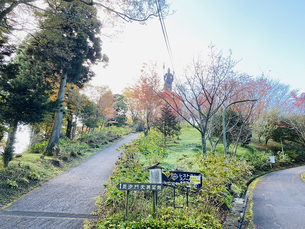 雲辺寺山頂公園へ