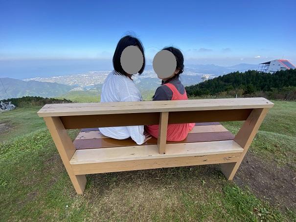 天空のベンチ 2人で