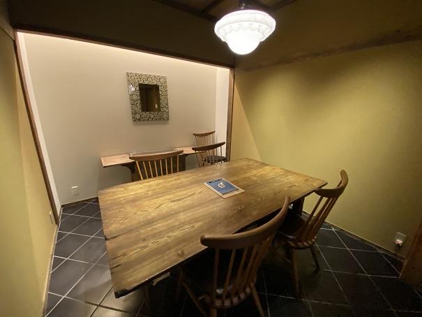 アイスビストロヒライ個室
