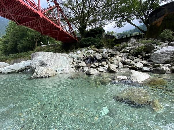 加茂川 きれいな水
