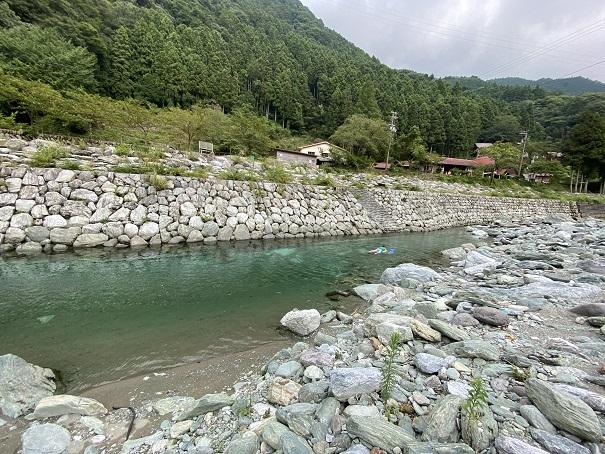 加茂川川遊びポイント