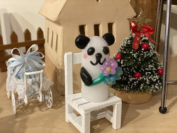 キャンドルフェアリー パンダ椅子