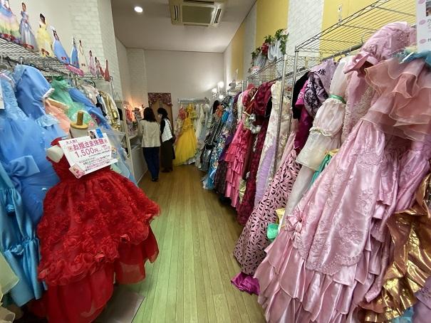 いがらしゆみこ美術館 お姫様体験ドレス