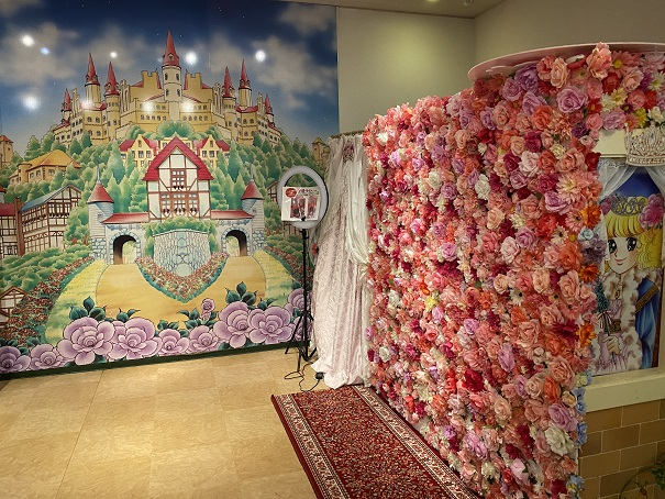いがらしゆみこ美術館 お姫様体験 壁紙