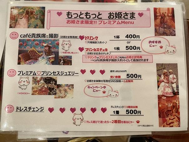 いがらしゆみこ美術館 お姫様体験追加料金