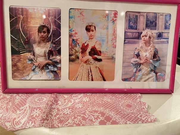 いがらしゆみこ美術館 お姫様体験撮影バッグ