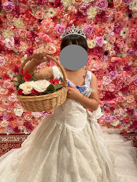 いがらしゆみこ美術館 お姫様体験 花かご
