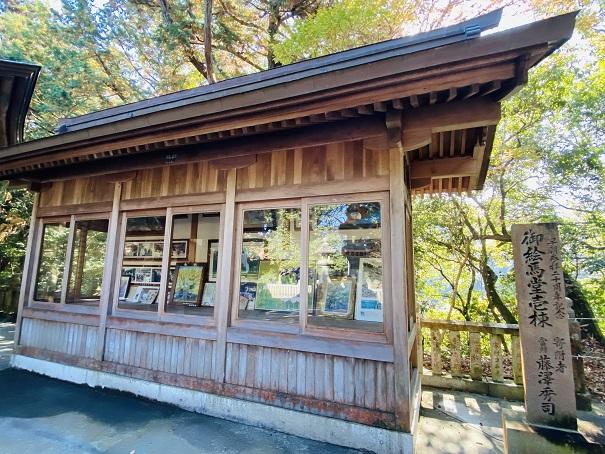 岩部八幡神社 絵馬堂