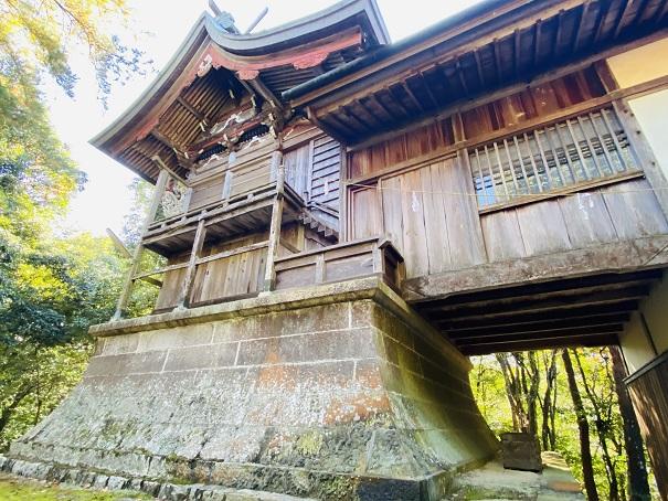 岩部八幡神社 本殿