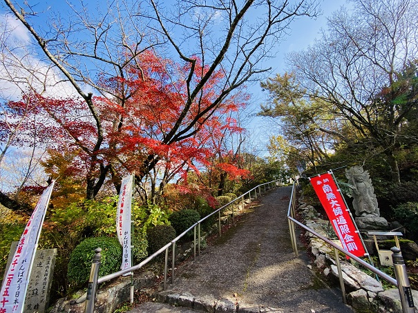 神野寺 大師像への道