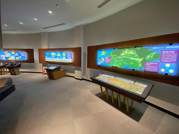 香川用水記念公園 水の資料館2階