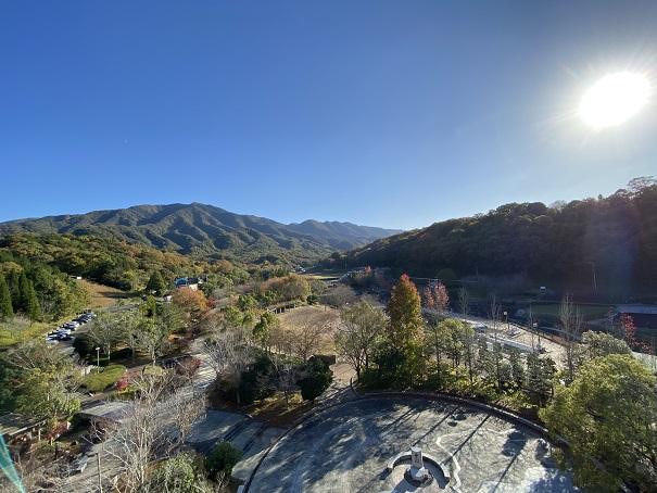 香川用水記念公園 屋上からの眺め
