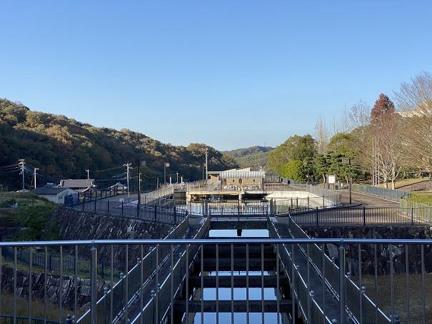 香川用水記念公園 東西分水工
