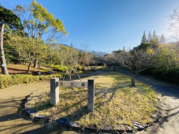 香川用水記念公園 花木園