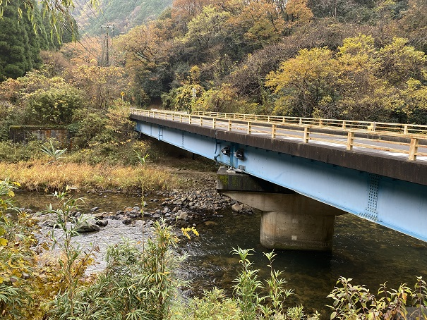 柳橋展望広場からの風景