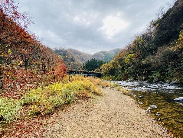 宇甘川と紅葉2