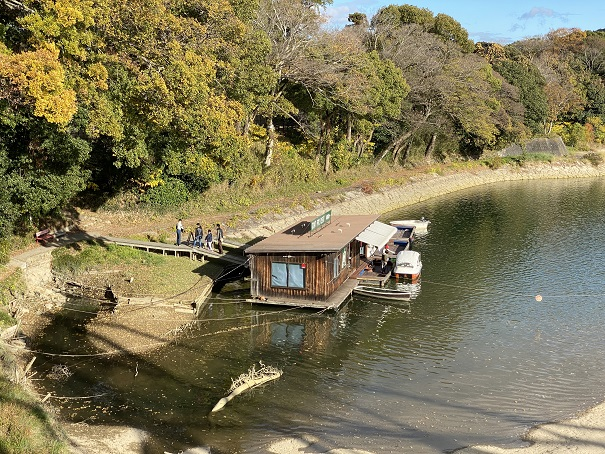 岡山城 ボート乗り場